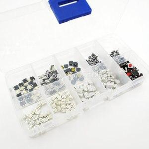 Image 2 - 250PCS 10 Tipi Tattile Push Button Interruttore di Tocco Chiavi A Distanza Pulsante Microinterruttore Vendita Calda