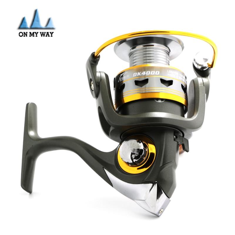 New 2015 German technology Fishing Reel 11BB 2000 6000 series spinning reel for feeder fishing free