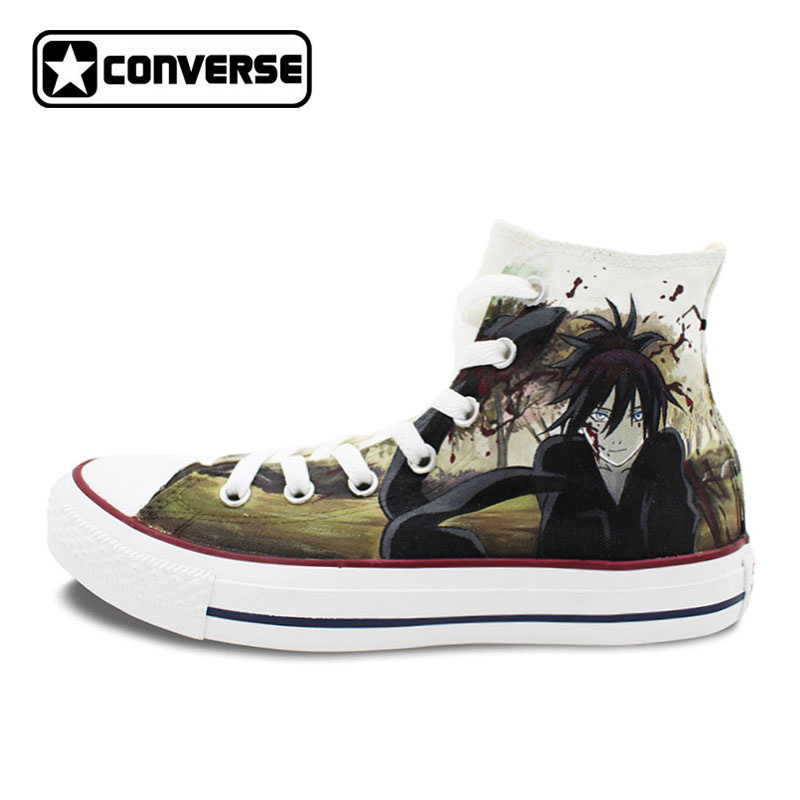 Women Men Converse All Star Noragami Anime Shoes Design Hand Painted Shoes Woman Man Sneakers Skateboarding Shoes Cosplay Gifts lefard ваза shena 30 см