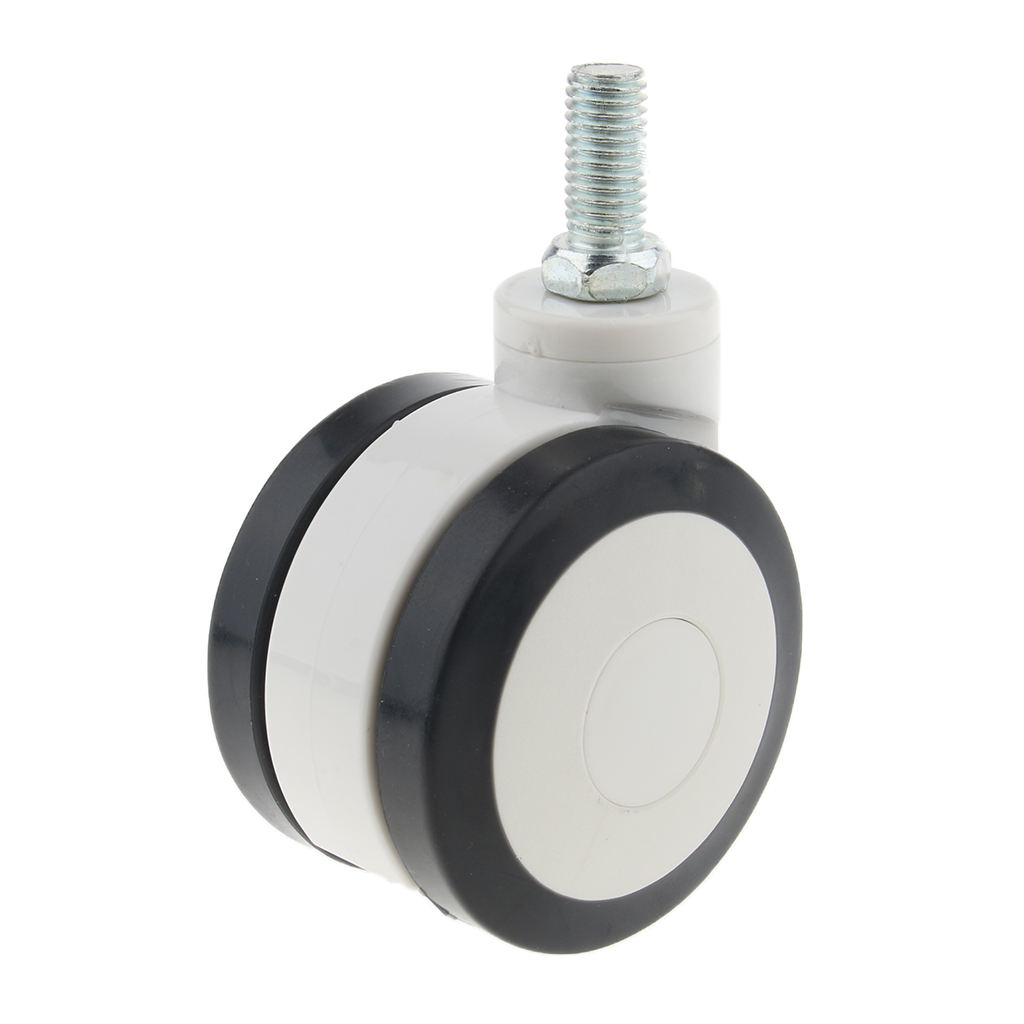 5 inch Swivel Caster Wheels Heavy Duty Polyurethane Wheel Universal for Office Chair Wheelchair Quiet Protect