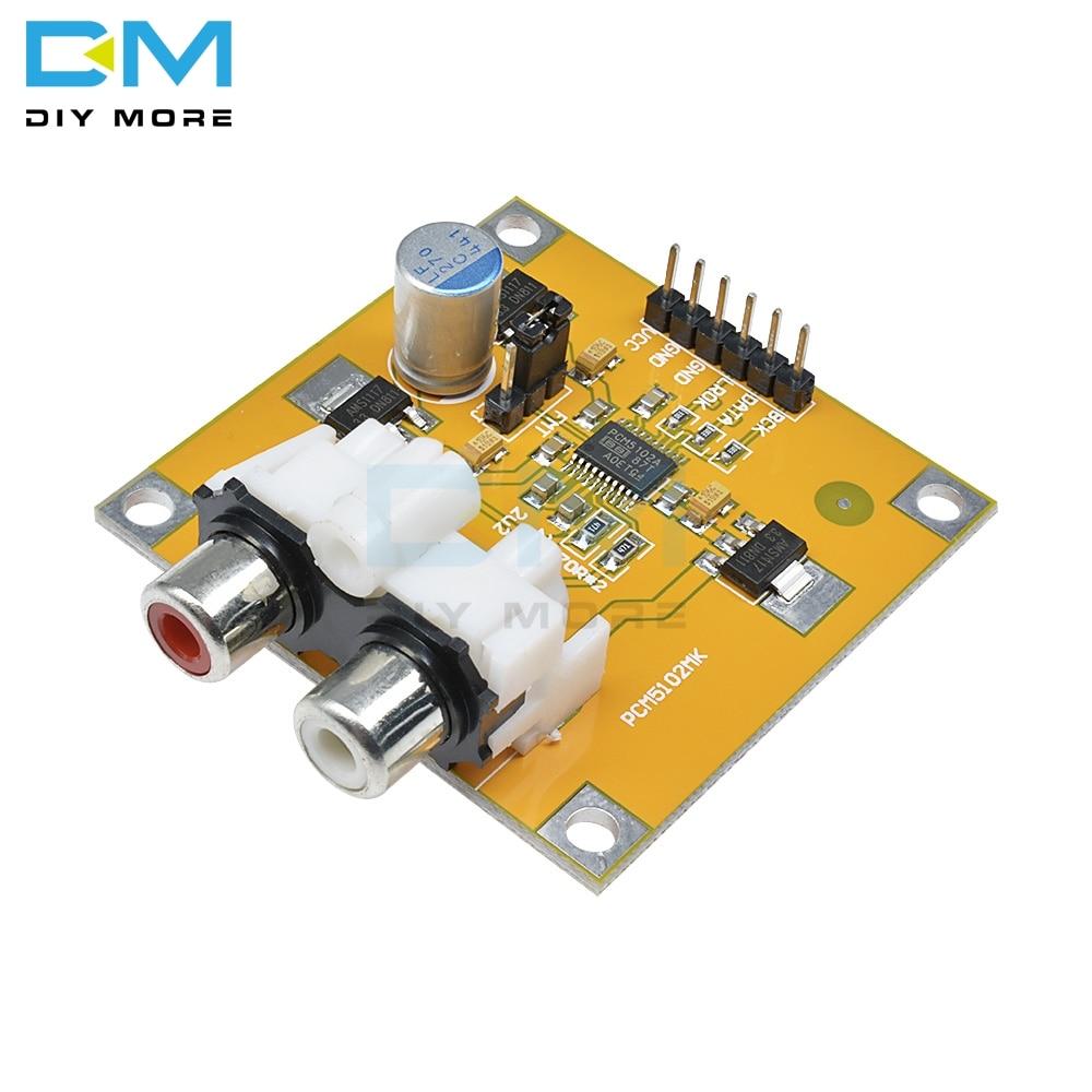 PCM5102 PCM1794 DAC декодер I2S плеер собранная плата 32Bit 384K Beyond ES9023 для Raspberry Pi