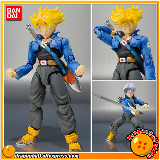 "Koop ""Dragon Ball"" Originele BANDAI Tamashii Naties S. h. figuarts/SHF Exclusieve Action Figure Trunks Premium Kleur Editie-in Actie- & Speelgoedfiguren van Speelgoed & Hobbies op  Groep 1"