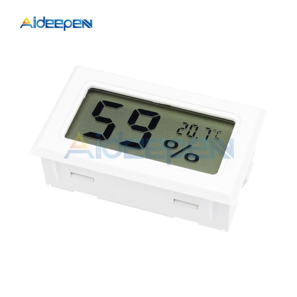 LCD Digital Thermometer Hygrometer for Freezer Refrigerator Fridge Temperature Sensor Humidity Meter Gauge Instruments Cable 24