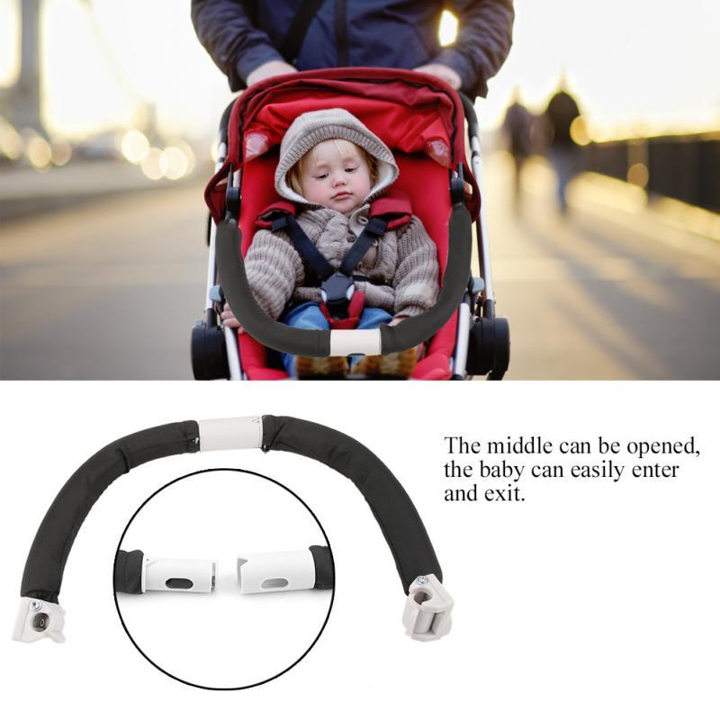Baby Stroller Handle Handlebar Adjustable Generic Universal Armrest Bumper Bar For Baby Carriage Baby Stroller Pram Accessories