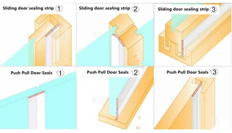 Adhesive Door Seal