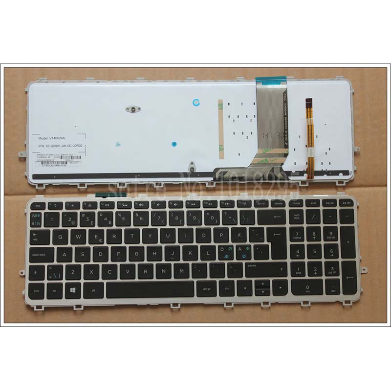 Nordic NE  Laptop Keyboard for HP ENVY TouchSmart 15-J 15T-J 15Z-J 15-J000 15t-j000 15z-j000 15-j151sr with backlit   keyboard 720566 501 720566 001 for hp envy 15 15t j000 15t j100 motherboard geforce gt740m 2gb ddr3l