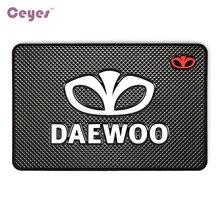 Pegatina de diseño para coche, funda con insignia de emblemas para logotipo de Daewoo, Winstom espera, Nexia Lanos Matiz, accesorios de Interior, estilismo para coche