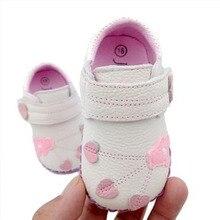 Baba Bőr Cipő Újszülött Soft Bottom nyári Girls Baba Toddler Cipő Soft Bottom Aranyos Princess Baby Leaf Pattern Shoes YD542