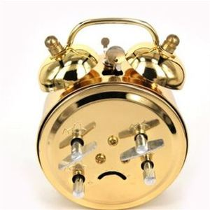 Alarm Clock Home Decor Ticking