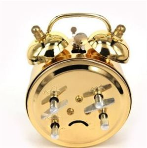 Alarm Clock Home Decor Ticking Retro Vintage Twin Bell Desk Bedside Alarm Clock Vintage Alarm Clock Decoration Wake Up 3DNZE10