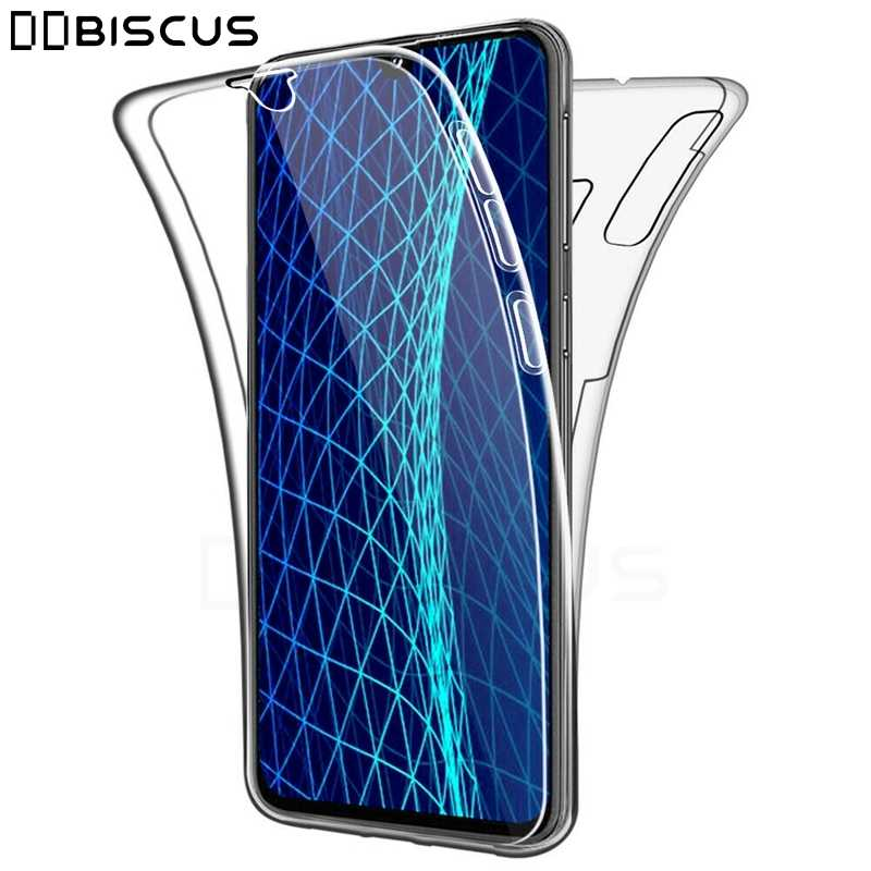 Double Front + Back Protector Silicone Case For Samsung Galaxy M10 A10 A30 A40 A50 A20 A60 A70 A20E M20 M30 M40 Full Body Cover