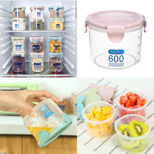 600ml Car Travel Storage Box Multifunctional Plastic Dry Fruit Containers  Snacks Seeds Garbage Holder Plate Dish