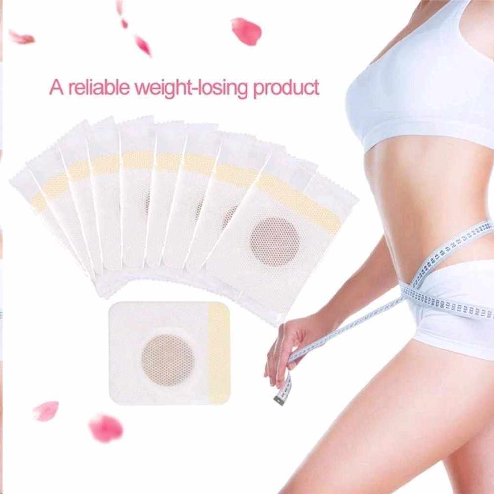 Wholesale 1pc Detox Magnetic Abdominal Slimming Patch Cellulite Fat Burning Adhesive Weight Loss Stickers Skin Care TSLM2
