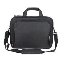 Neue nylon schwarz laptop-tasche für männer notebook tasche für 14 15 15,6 zoll computer zubehör