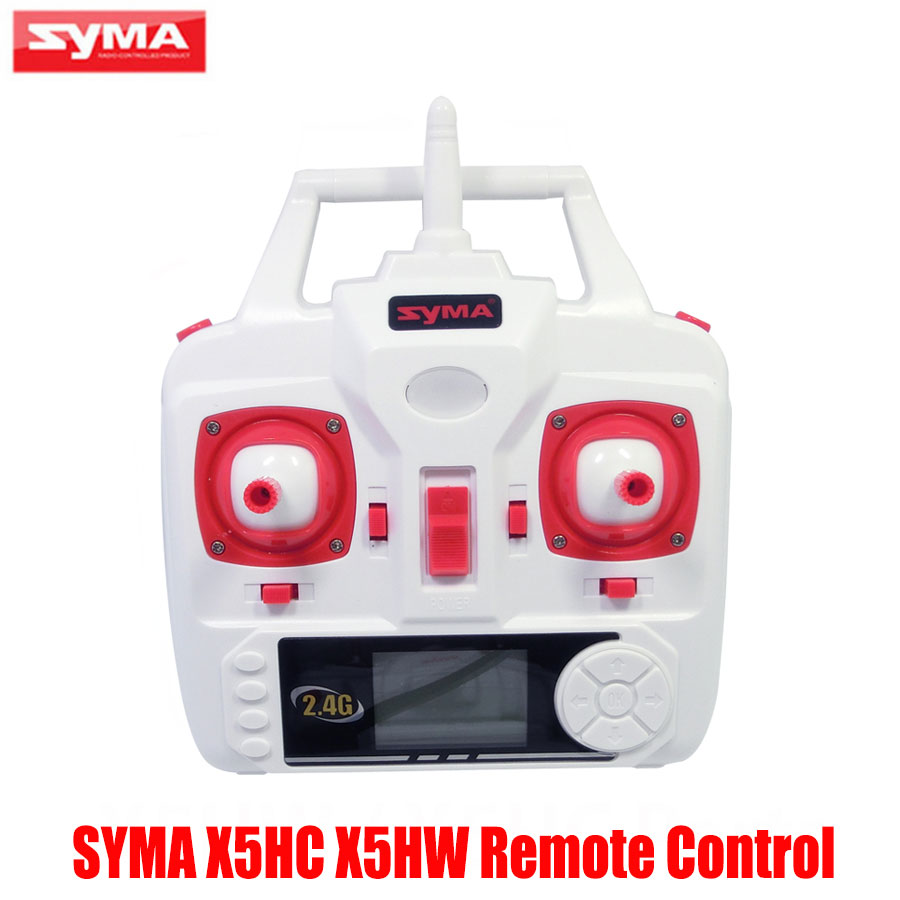 Original Syma X5HW X5HC RC Drone Set High Mode Transmitter Remote Control Spare Parts For X5HW RC Helicopters Accessories syma transmitter remote control for syma x5c x5 x5c 1 rc helicopter drone quadcopter accessories spare parts