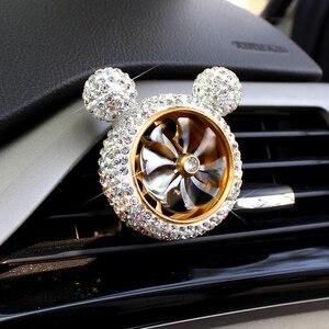 Image 4 - 1 шт., Кристальный автомобильный освежитель воздуха, автомобильный освежитель воздуха, освежитель воздуха, зажим для кондиционера, автомобильный Ароматический диффузор, твердый парфюм