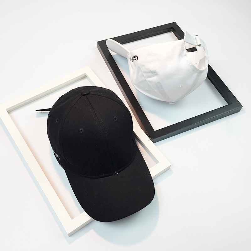Black Baseball Cap Women Snapback Embroidery Dad Hats For Men Casquette Daddy Hat Hip Hop Trucker Cap Bone Female Drake Sun 5