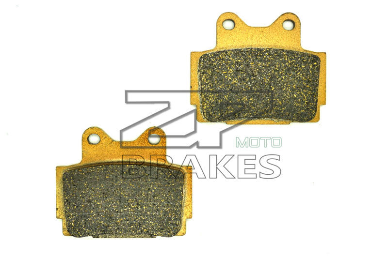 New Organic Brake Pads For Rear YAMAHA SRX 400 1985-1986, FZR 400 1987-, R1-Z 250 1990- Motorcycle BRAKING Free Shipping fzr250r 1986 fairing for yamaha fzr250 full body kits 1987 fzr 250 1988 abs fairing 1986 1989 circular butterfly lamp