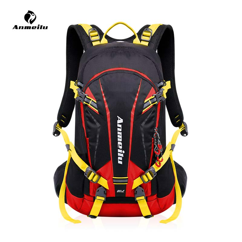ANMEILU 20L Outdoor Sport Bag 2018 Climbing Rucksack Cycling Backpack Waterproof Bag Running Hiking Travel Bag Mochila Ciclismo