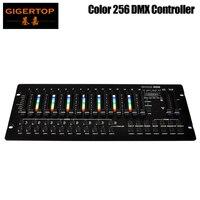 TIPTOP цвет 256 консоль 192 компьютерные огни канал RGB/RGBW эффект светодио дный каналы светодиодный функция программы дисплей DMX Par контроллер