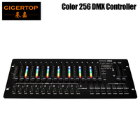 TIPTOP COLOR 256 Console 192 Computer Lichten Kanaal RGB/RGBW Effect Kanalen LED Functie Programma Display DMX Par Controller-in Toneelbelichtingseffecten van Licht & verlichting op