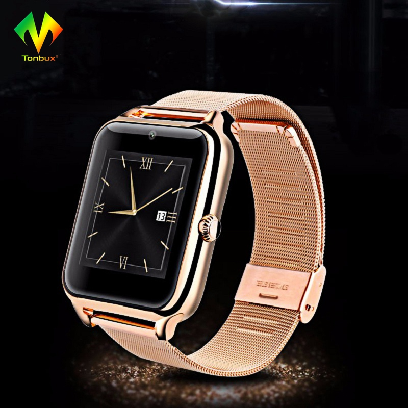Tonbux Fashion Bluetooth Smart Watch Z50 2G Internet NFC Support SIM TF Card Wearable Devices SmartWatch for IOS Android Phone