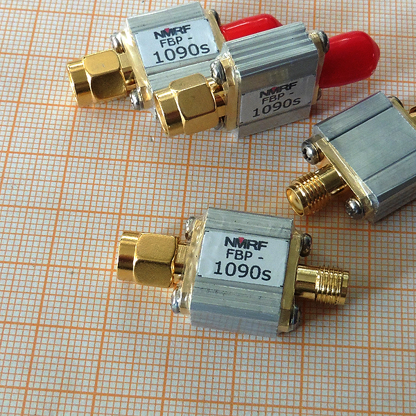 1090MHz ADS-B Aviation Frequency Band Bandpass SAW Filter With Bandwidth 8MHz And SMA Interface