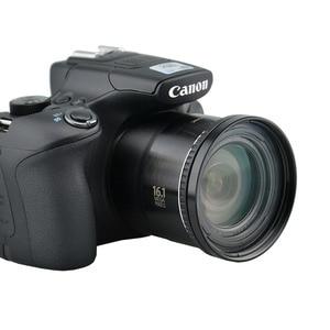 Image 4 - Camera Lens Adapter Ring Voor Canon Powershot SX50 SX60 SX70 SX520 Hs Opnieuw Installeren 67 Mm Uv Filter Zonnekap Lens cap Accessoire