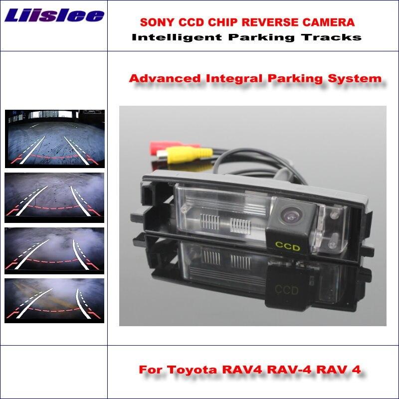 Liislee caméra de recul arrière pour Toyota RAV4 RAV-4 Toyota Vanguard 2006 ~ 2012 HD 860 Pixels pistes de stationnement intelligentes