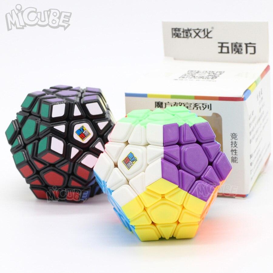 Moyu cubo wumofang cubos mágicos velocidade para iniciantes quebra-cabeça cubo magico wca campeonato convexo strickerless megam