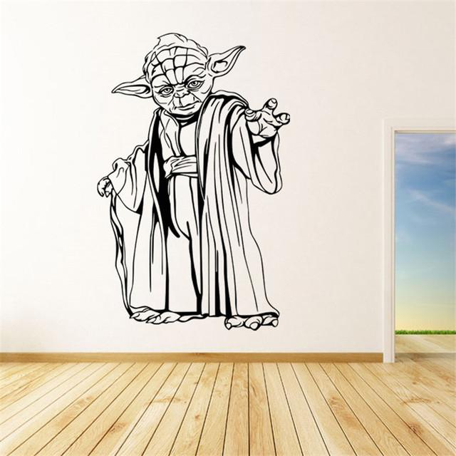 Star Wars Yoda Wall Sticker