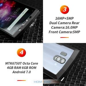 "Image 4 - HOMTOM HT70 10000mAh Batterie 6,0 ""HD 18:9 Bildschirm Smartphone MTK6750T Octa Core 4G RAM 64G ROM 16MP + 5MP Dual Cam 4G handy"