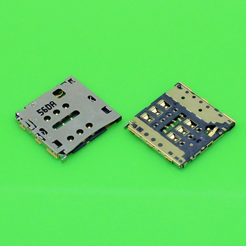 Brand New Sim card reader connector socket slot for Huawei Ascend P7 Mobile phone