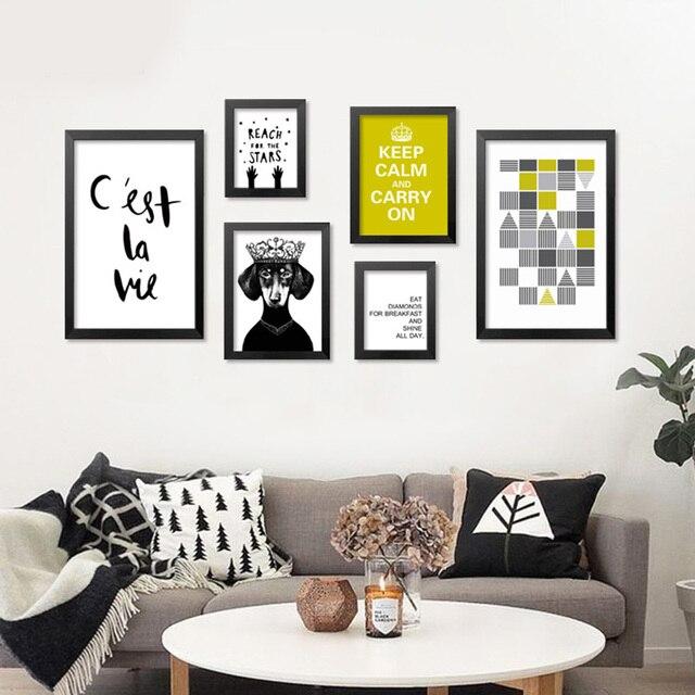 Carteles y impresiones pintura cuadros de pared para sala for Decoracion de paredes con cuadros