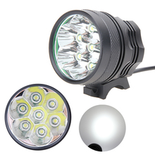 Aluminum Alloy 7x T6 LEDs 15000Lm MTB Bicycle Front Light Waterproof Bike Warning Lamp Outdoor Camping Fishing Cycling Headlamp