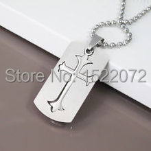 New fashion low price   Military Dog Tags Gothic Celtic Cross      FH890018