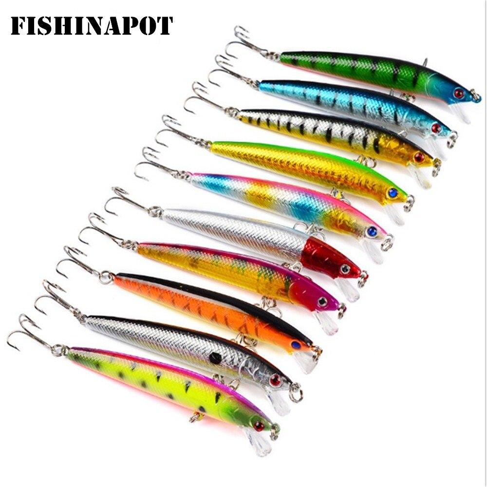 FISHINAPOT 1 ชิ้นตกปลาล่อตา 3D 9.5 - ประมง
