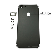 New Original Black Back Cover Housing Battery Door Replacement Spare Parts For Iphone 7 Plus 5