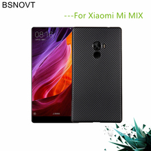 For Xiaomi Mi Mix Case For Xiaomi MiMix Cover Soft Carbon fiber Slim TPU Shockproof Phone Case For Xiaomi Mi Mix Funda 6.4 brushed texture carbon fiber shockproof tpu case for xiaomi mi 8 se black