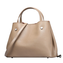 Soft Genuine Leather Bag Women Handbag Summer Luxury Brand Designer Handbags High Quality Women Bag Set