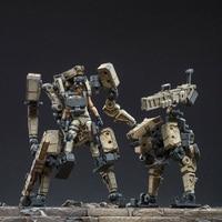 11cm Mecha With 7.6cm 1/24 Lifelike Soldier Model 3D Gen.5 Protagonist DIY Assembly Fine Soldier Model Creative Toy Attack Mecha