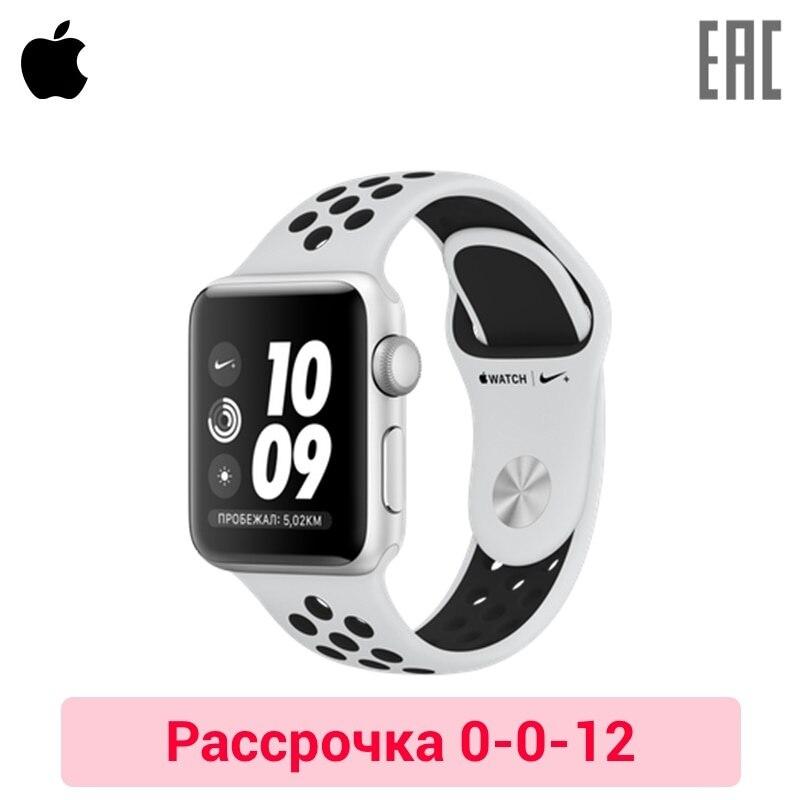 Купить со скидкой Смарт-часы Apple Watch S3, 38 mm, Nike+ Sport Band