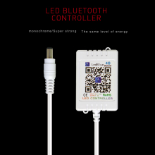 5-24V Wireless Bluetooth Single LED Controller For Strip Dimmers 12V 12 V Brightness Music Light APP Remote