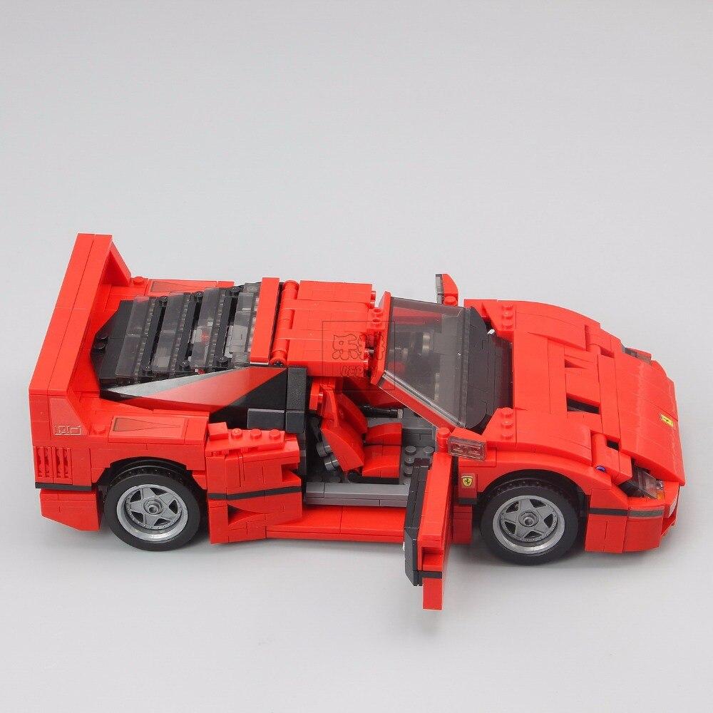 Lepin 21004 Ferrarie F40 Voiture de Sport Modèle Blocs De Construction De Briques Jouets Compatibles avec 10248 - 3