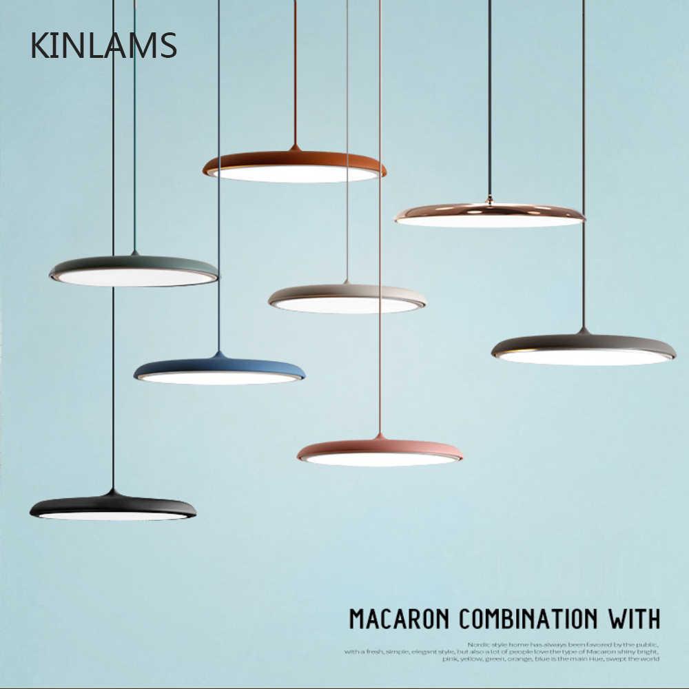 Современный художественный дизайн светодиодный подвесной светильник НЛО круглая пластина Подвесная лампа для столовой гостиной спальни настольная лампа для учебы Подвесная лампа