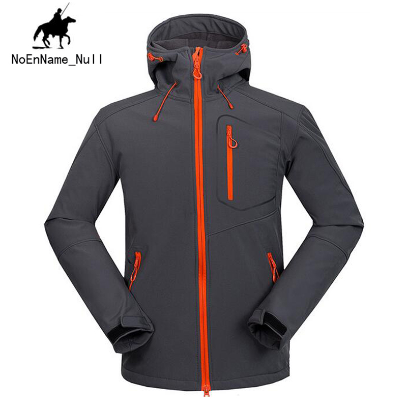 New Arrival 2017 Men Autumn and Winter Warm Windbreaker Long Sleeves Solid Color Hooded Sports Quick-Drying Softshell Men 150 new arrival autumn and winter 2017 outdoor softshell long sleeves solid color zipper pocket sports windbreaker men 150