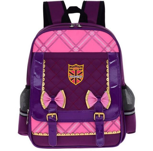4218defed7bf7 سعة كبيرة أطفال هدية للأطفال للبنين أميرة البنات mochila حقيبة مدرسية حقيبة  زيبر حقائب السفر