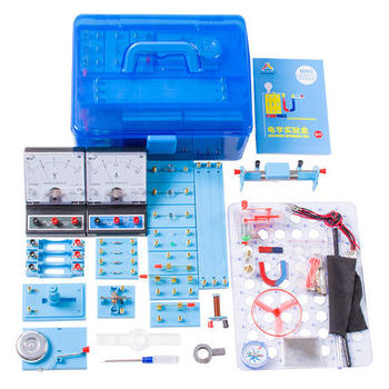 Junior high school physics and electrical laboratory set Includes magnetic suspension base ,Light-emitting diode,Hand generator