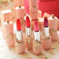 Fashion Women Beauty Rose Moisturizer Long Lasting Waterproof Matte Lipstick High Quality