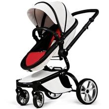 Baby Stroller High Landscape pram Four Wheel Baby Trolley Folded Two-way Poussette Bebek Arabas Kinderwagen Bebe Baby Carriage